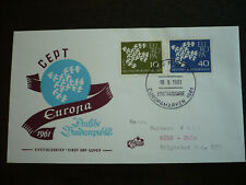 Postal History - Europa - Germany -Scott# 844 & 845 - First Day Cover