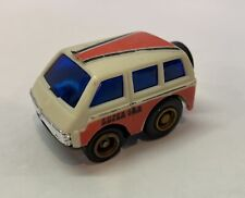 VTG Toyota White & Orange Super Van Toy Vehicle Pull Back 2