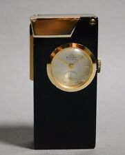 Old Vintage Antique Swiss Made 'BULER' Petrol Lighter with Mechanical Watch