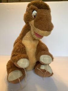 "Gund Little Foot Plush 18"" The Land Before Time Dinosaur Stuffed 1988 JC Penny"