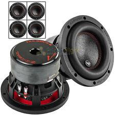 "4 Pack Audiopipe 6.5"" Subwoofers Dual 4Ω 500 Watts Max Car Audio Sub TXX-BDC4-6"