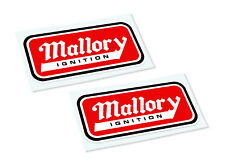 MALLORY Classic Retro Car Motorcycle Decals Stickers