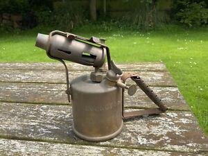 Vintage Burmos Regency No.1  3/4 Pint Brass Paraffin/Kerosene Blow Torch