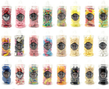 VICTORIAN RETRO SWEETS JAR (18cm) Pick n Mix RETRO Wedding Kids Candy Sweets