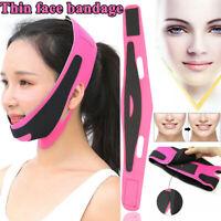 Frauen reduzieren Doppelkinn Anti-Falten-Gesicht Bandage Facial Lift Belt