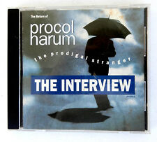 PROCOL HARUM CD Prodigal Sstranger THE INTERVIEW CD BMG Rec '91 Promo-Only