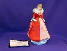 1995 FROM BARBIE WITH LOVE PORCELAIN BISQUE MUSICAL FIGURINE NAMED MAGNIFICENCE