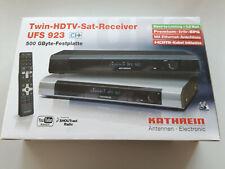 Kathrein UFS 923si 500GB HD Festplatten-Recorder Silber