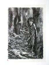A. PAUL WEBER, Lithographie 1969/87, Nachlass, wie die Dragoner Gelnhausen....