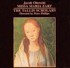 TALLIS SCHOLARS - Jacob Obrecht: Missa Maria Zart (CD, Jan-2001, Gimell)-NEW
