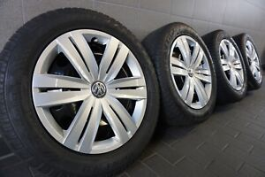 4 Winterräder Winterreifen 205/55 R16 VW GOLF VII Skoda Octavia III Leon 5F 7mm
