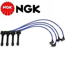 NGK Spark Plug Ignition Wire Set For Honda Civic del Sol 1.6L 1994-1997