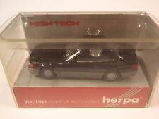 Herpa 025157 MB 500 sl negro High Tech 1:87 nuevo embalaje original U.