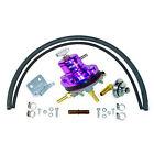 1x Sytec 1:1 MOTORSPORT Regulador de presión del combustible (vk-msv-vrx-p)