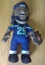 "Richard sherman seattle seahawks nfl player jersey 10"" plush toy figure"