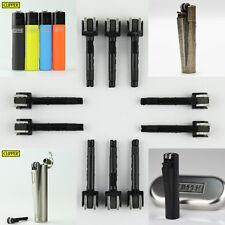 10 pcs clipper lighters original Flint Barrel fit for full size clipper lighter!