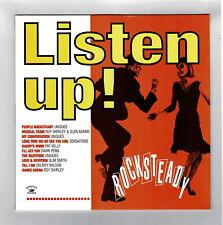 LISTEN UP! rock steady      kingston sounds LP      boss reggae