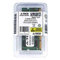 512MB STICK SODIMM DDR2 NON-ECC PC2-3200 400MHz 400 MHz DDR-2 512M Ram Memory