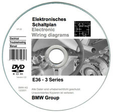 BMW Serie 3 (E36) ETM wiring diagrams on CD - PC & Mac