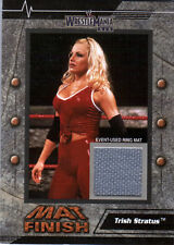 WWE Trish Stratus 2003 Fleer WrestleMania 19 Mat Finish Event Used Mat Card DWC