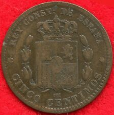 SPAIN - 5 CENTIMOS - 1879