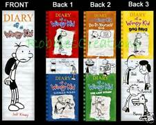 3 Lot of BOOKMARKS only, Designed of DIARY of a WIMPY KID Dog Days Book Mark