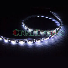 "2x 60CM 24"" SMD 335 12V Car Side Glow Side-emitting DRL Driving LED Strip Light"