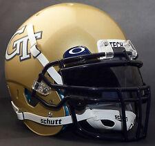 *CUSTOM* GEORGIA TECH YELLOW JACKETSSchutt XP GAMEDAY Replica Football Helmet