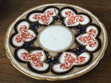 Wileman Pre Shelley 17.8cm Side Plate in Japan Imari Red & Blue 3931 reg.1884