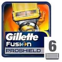 Gillette Fusion Proshield - 4 and 6 Blade Packs - 100% Genuine - UK Seller