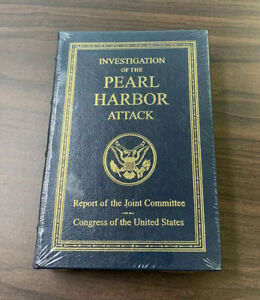 Easton Press Investigation Of The Pearl Harbor Attack - Sealed - Like New WWII