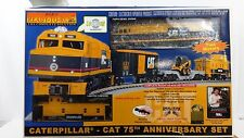 MTH Rail King 30-4047-0 Caterpillar 75th Anniversary Ready To Run Set, C-7