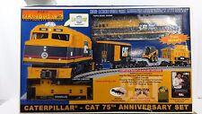 MTH Rail King 30-4047-0 Caterpillar 75th Anniversary Ready To Run Set, C-7