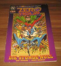 JLA Gerechtigkeitsliga Sonderband 3 Zero Hour Dino DC Comic 1998 Superman Batman