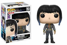 Funko POP ! Movie Major with Bomber Jacket Ghost in the shell  - 393 - New !
