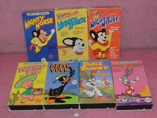 7 Cartoon Favorites VHS Tapes_Mighty Mouse_Porky Pig_Daffy Duck_Bugs Bunny.