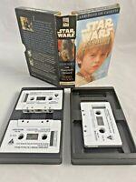 Star Wars Episode I the Phantom Menace Cassette tape set Audio book RARE