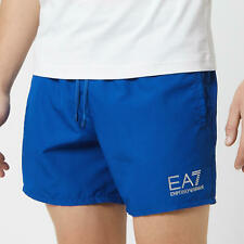 Emporio Armani EA7 Men's Sea World Core Boxer Swim Shorts Blue Small (46) RRP£50