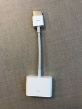 Used OEM Apple HDMI to DVI Adapter (MJVU2AM/A)