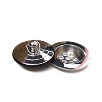 Ezyfix Waste Insert and Plug Sink Repair Kit 40mm Chrome DIY NEW