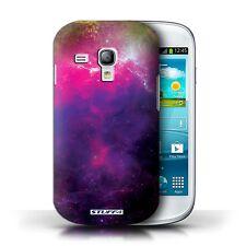 STUFF4 Case/Cover for Samsung Galaxy S3 Mini/Space/Cosmos/Purple Nebula