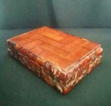 Antique Natural Baltic GERMAN Amber Rare Jerwelry Box Art Deco Butterscotch 546g