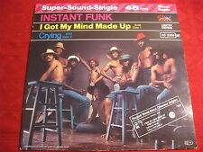 "12"" INSTANT FUNK I Got My MInd Made Up SALSOUL RECORDS"
