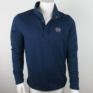 Under Armor Golf Men's Pullover Notre Dame Sweater Size Medium