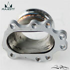 "To T25 T28 GT25 GT28 2.5"" 63mm V-band Clamp Flange Turbo Dump Pipe Adapter"