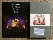 Dodgeball, Audio Visual Press Kit- Fox, 2004 ,RARE with BETACAM Vince Vaughn