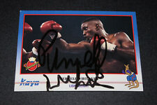 PERNELL WHITAKER Signed/Autographed KAYO Boxing Trading Card! IN PERSON! chavez