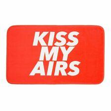 "Prolific Red Kiss My Airs Floor Mat Indoor Mat Room Decor Floor Mat 27.5""x17.7"""