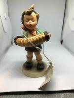 "Vintage ""Accordian Boy"" #185 Hummel-No Box-Free Shipping+Free Gift"