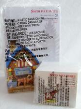 Dept 56 Santa'S Hitching Station + Magic Reindeer Food North Pole Village Nrfb *